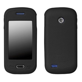 Case-Mate Smart Silicone Skin Case for Samsung Eternity II SGH-A597 - Black