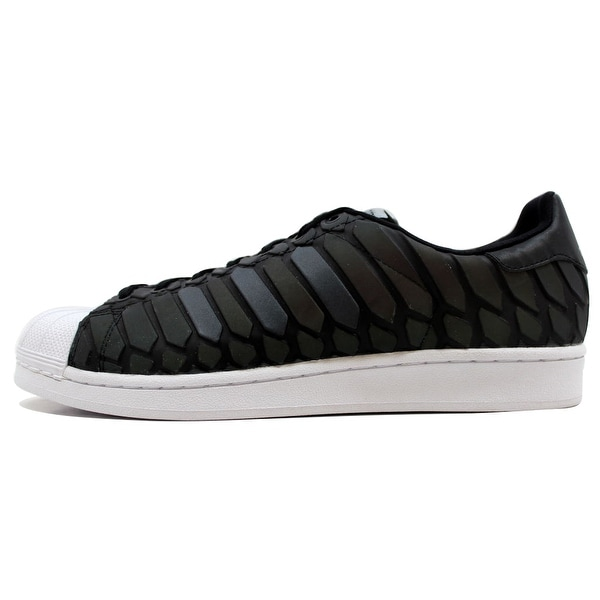 8c3a55b86c5d6 Adidas Men  x27 s Superstar Black Reflective Silver-White Xeno D69366
