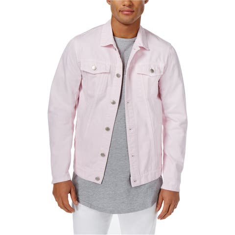 Jaywalker Mens Button Front Trucker Jacket