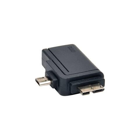 Tripp Lite U053-000-OTG Tripp Lite 2-in-1 OTG Adapter USB 3.0 Micro B & USB 2.0 Micro B to USB A - 1 x Type A Female USB - 1 x