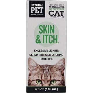 Natural Pet Skin And Itch Water Additive For Cats