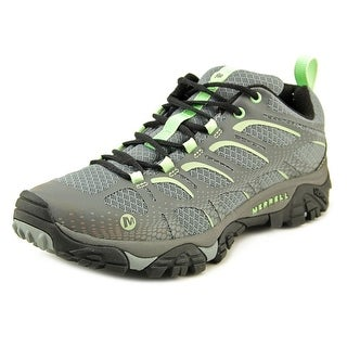 Merrell Moab Edge Women Round Toe Synthetic Gray Hiking Shoe
