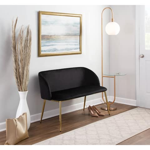 Silver Orchid Harding Bench