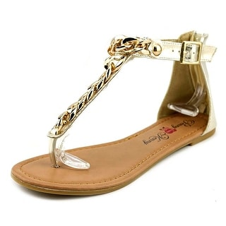 Penny Loves Kenny Troupe Open Toe Synthetic Gladiator Sandal