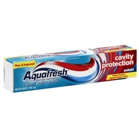 Aquafresh Cavity Protection Fluoride Toothpaste, Cool Mint 5.6 oz