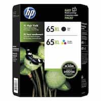 HP 65XL Black & Color High-Yield ink cartridges (N9K04AN)( N9K03AN)