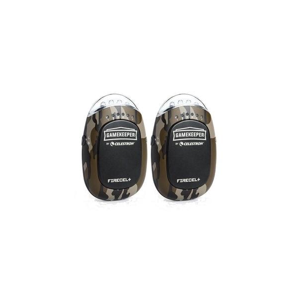 Celestron 93549 Gamekeeper Portable power bank, LED flashlight 3-in-1 hand warmer-2 Pack