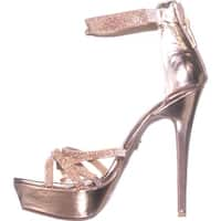 Thalia Sodi Womens remmy Open Toe Special Occasion Platform Sandals - 8