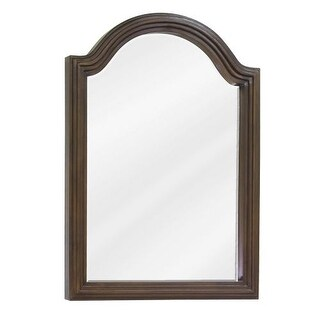 Elements MIR029D-60 Compton Collection Arched 22 x 30 Inch Bathroom Vanity Mirror