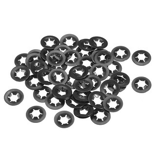 Starlock Washers , M5x12  Internal Tooth Clips Fasteners Kit , Pack of 50