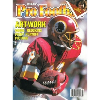 57d3bae4a Shop Art Monk unsigned Washington Redskins Athlon Sports 1989 NFL Pro  Football Preview Magazine - Free Shipping On Orders Over  45 - Overstock -  20686825