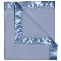"Raindrops Baby Boys Fleece Receiving Blanket, Blue, 28"" X 36"" - One Size"