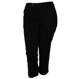 Style & Co. Women's Solid Color Capri Dress Pants