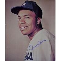 Signed Davis Tommy Los Angeles Dodgers 8x10 autographed