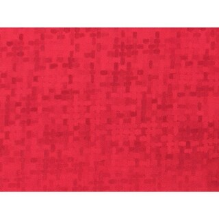 "Red Spun Sheen 7-3/8""x100' Gift Wrap Jeweler's Roll"