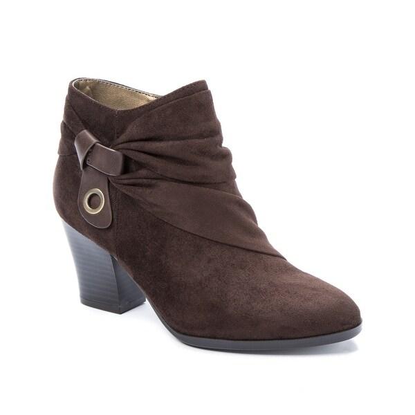Andrew Geller Ginne Women's Boots Dk Brown