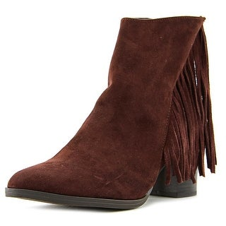 Madden Girl Shaare Pointed Toe Synthetic Ankle Boot