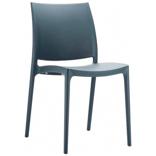 Maya Chair (Set of 2) - Dark Grey