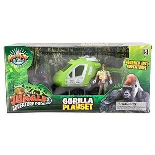 Rhode Island Novelty Gorilla Adventure POD Playset
