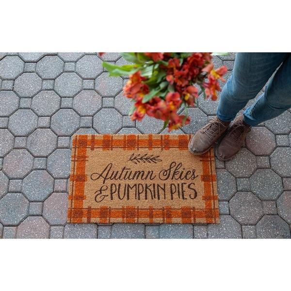 Autumn Skies Coir Doormat. Opens flyout.