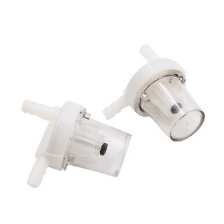 2pcs Universal Motorcycle Scooter Gasoline Gas Fuel Filter With Magnet 54 X 32mm