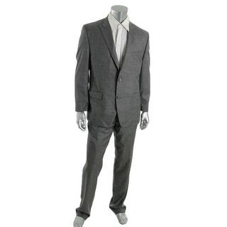 MICHAEL Michael Kors Mens Wool 2PC Two-Button Suit - 44S