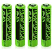 NIMHAAA (4-Pack) NiMh AAA Batteries 2-Pack