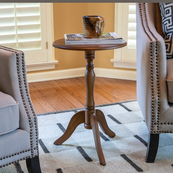 Simplify Pedestal Accent Table