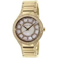 Michael Kors Women's Kerry MK3312 Gold Stainless-Steel Quartz Fashion Watch