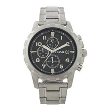 Fossil Fs4542p Dean Chronograph Stainless Steel Watch Watch For Men