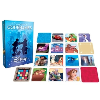 Disney Family Edition Codenames Card Game - multi