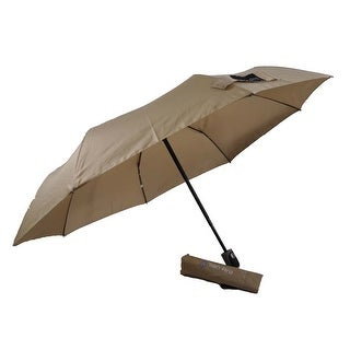 Rain Pro Super Mini Khaki Umbrella with Automatic Open Handle