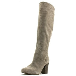 Vince Camuto Sashe Round Toe Suede Knee High Boot