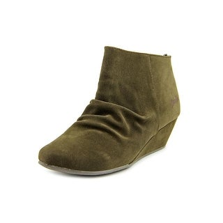 Blowfish Luminate Women Round Toe Synthetic Brown Ankle Boot