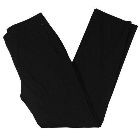 Lauren by Ralph Lauren Womens Pants Black Size 4 Quartilla High Waist