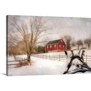 """""""Almost Home"""" Canvas Wall Art"""
