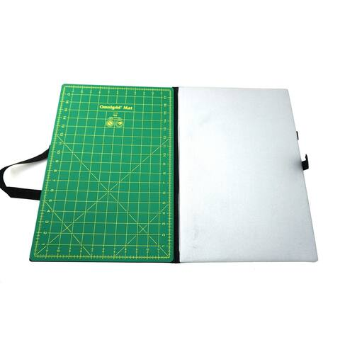 "Omnigrid Foldaway Large Cutting Mat & Ironing Area 12in x 18in - 1"" x 12"" x 18"""