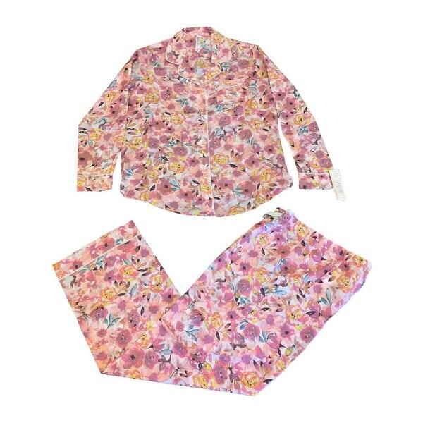 963441757 Shop Gilligan   O Malley Women s Tencel Pajama Set - Free Shipping ...