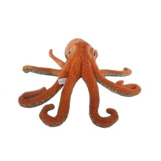 """Wishpets Unisex-Child Octopus Plush Toy 16"""" Orange"""