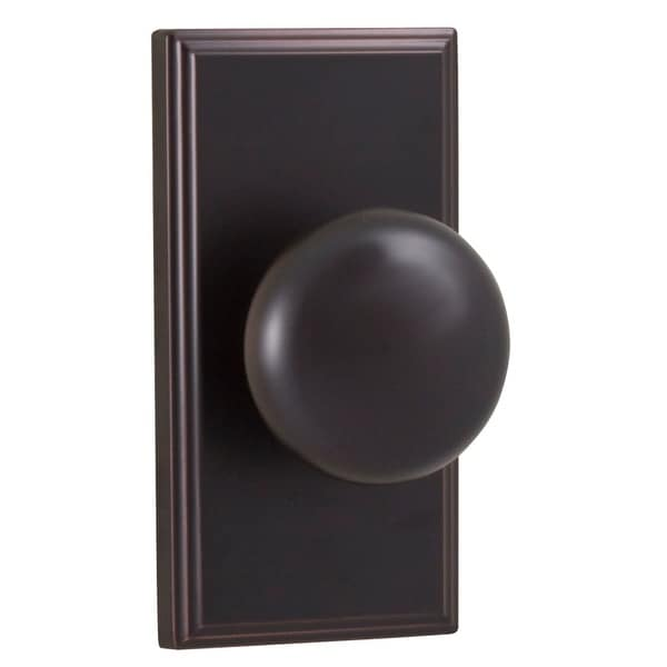 Weslock 3710I Impresa Privacy Door Knob with Woodward Rose from the Elegance Collection - N/A