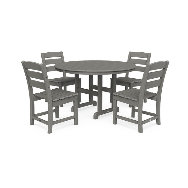 POLYWOOD Lakeside 5-Piece Side Chair Dining Set. Opens flyout.