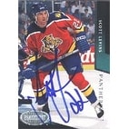 Scott Levins Florida Panthers 1993 Parkhurst Autographed Card Rookie Card This item comes with a certificate of aut