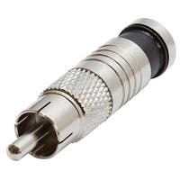Premium RCA Compression Connector for RG6