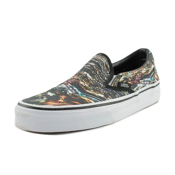 ed069841389 Shop Vans Classic Slip-On Women Round Toe Canvas Multi Color Skate ...