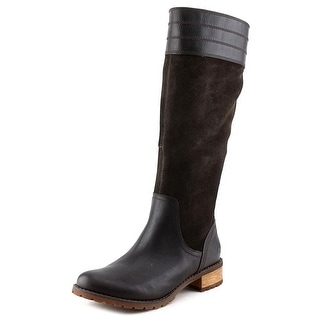 Timberland Bethel Tall Women W Round Toe Leather Brown Knee High Boot