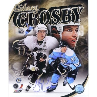 Signed Crosby Sidney Pittsburgh Penguins 8x10 Photo autographed