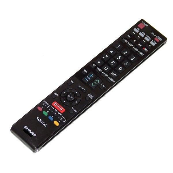 OEM Sharp Remote Control: LC80C6500U, LC-80C6500U, LC80LE633, LC-80LE633, LC80LE633U, LC-80LE633U