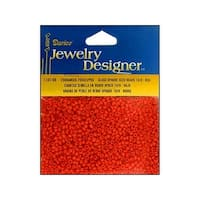 Darice JD Seed Bead 10/0 Opaque Red