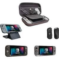CTA Digital  Travel Essentials Bundle for Nintendo Switch - Black