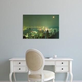 Easy Art Prints Paul Souders's 'Hong Kong' Premium Canvas Art